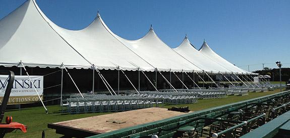 Summit Series 60' x 200' x  10' pole tent